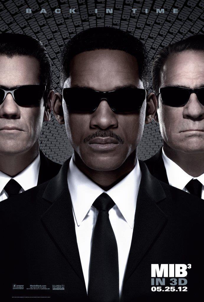 Men in Black - Sötét zsaruk 3. (MIB 3) filmplakát