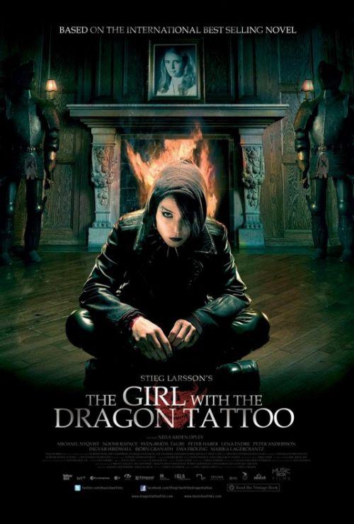 A tetovált lány filmplakát (Niels Arden Oplev rendezése)