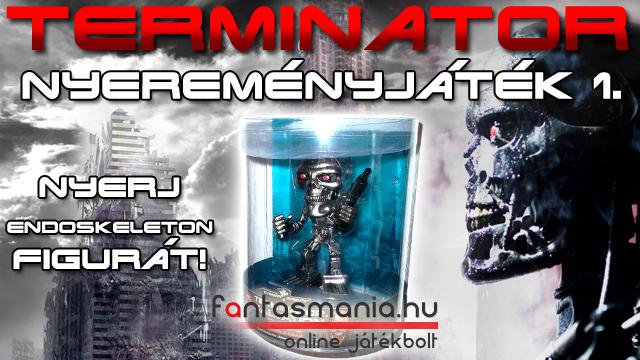 Játsz és nyerj! Játék - Terminátor