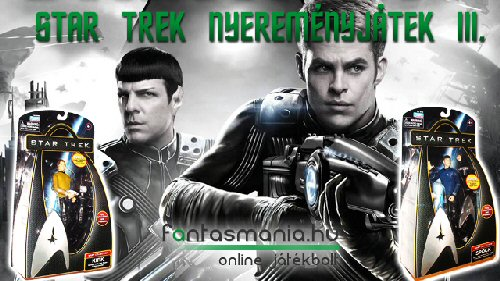 Játék - Star Trek nyereményjáték (3. kérdés)