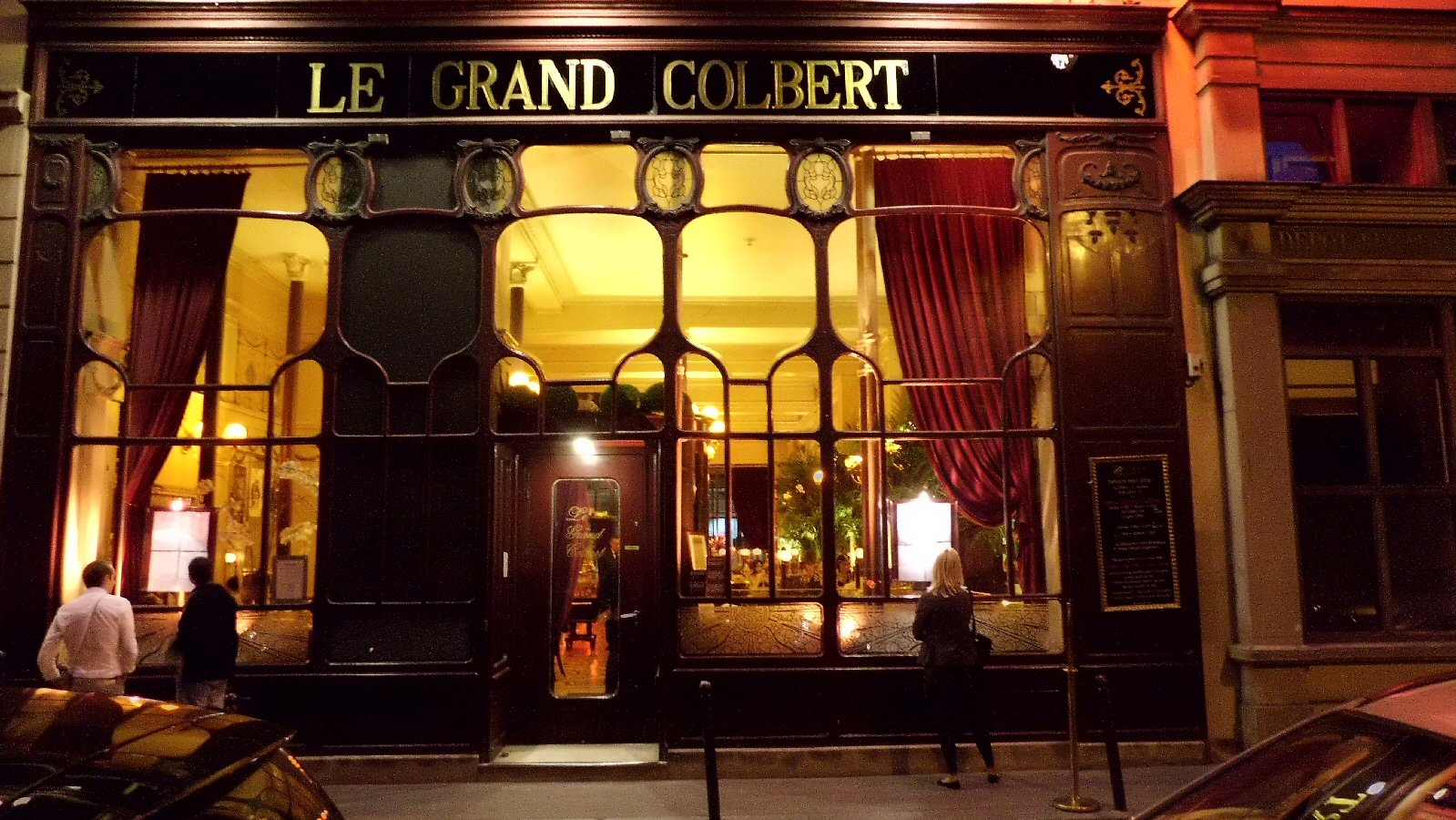 A szerző által készített fénykép: La Grand Colbert