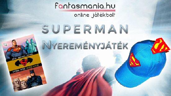 Játék - Superman nyereményjáték