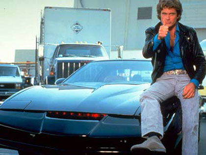 Knight Rider filmidézet - David Hasselhoff (Michael Knight)