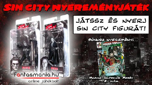 Játék - Sin City nyereményjáték