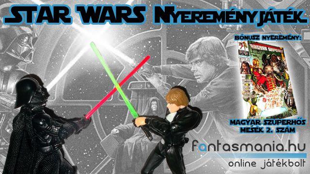 Játék - Star Wars nyereményjáték