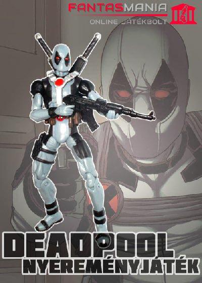 Játék - Deadpool figura és képregény nyereményjáték