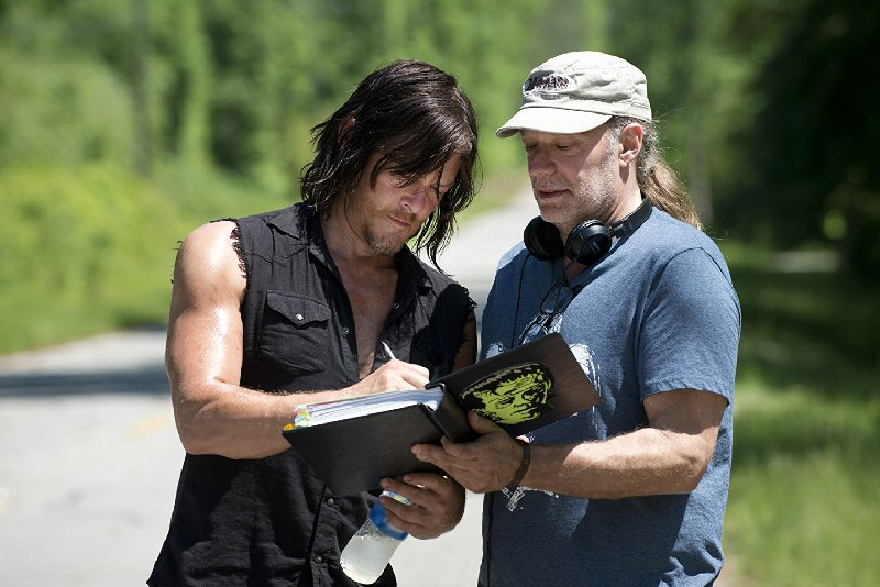The Walking Dead - bepillantás a kulisszák mögé